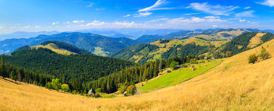 Mountains in the Carpathians Stock Photo