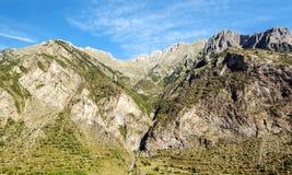 Mountains of Castejon Stock Photos