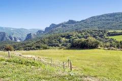 Mountains of Castejon Stock Image