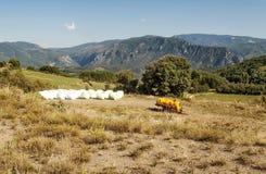 Mountains of Castejon Stock Photo