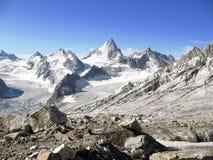 Mountains of Caucasus. Landscape: Tops of rocks, mountains of Caucasus Stock Image