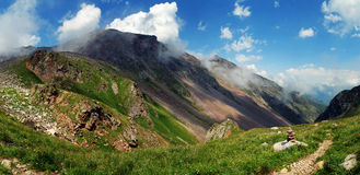 Mountains of caucasus Royalty Free Stock Photography