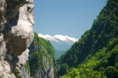 Mountains of Caucasus Royalty Free Stock Photo