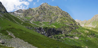 Mountains of the Caucasus, Arkhyz. Royalty Free Stock Photos
