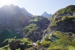 Mountains of the Caucasus, Arkhyz. Royalty Free Stock Photo