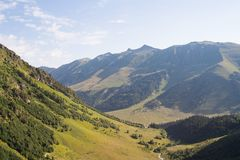 Mountains of the Caucasus Royalty Free Stock Photography
