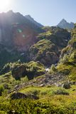 Mountains of the Caucasus Royalty Free Stock Photo