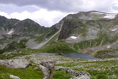 The mountains of the Caucasus Royalty Free Stock Photo