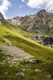 Mountains of the Caucasus Stock Photo