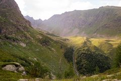 Mountains of the Caucasus Stock Images