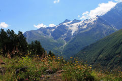 Mountains. Caucasus mountains. nice summer in the mountains Stock Image