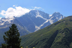 Mountains. Caucasus mountains. nice summer in the mountains Stock Photos