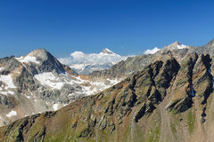 Mountains of the Caucasus Stock Image