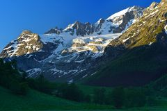 Mountains in Caucasus Stock Photos