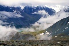 Mountains Caucasus top Royalty Free Stock Photos
