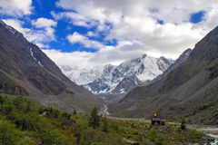 Mountains Caucasus top Royalty Free Stock Images