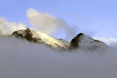 The mountains of the Caucasus Royalty Free Stock Photos