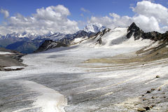 The mountains of the Caucasus Stock Photo