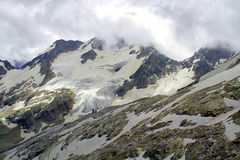 The mountains of the Caucasus Uzon Stock Photo