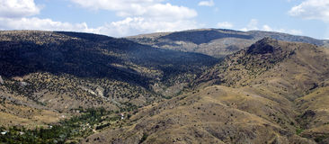 Mountains in central Anatolia Royalty Free Stock Photography