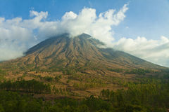 Mountains in central Flores, Indonesia Royalty Free Stock Photo