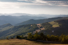 Mountains of Cevennes Stock Image