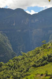 Mountains in Chachapoyas Stock Photography