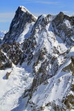 Mountains of Chamonix Stock Image