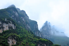 Mountains in China Stock Photos