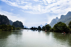Mountains of china Royalty Free Stock Photos