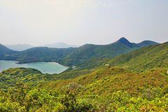Mountains and Clearwater Bay Stock Photos