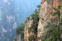 Mountains cliff Stock Photography