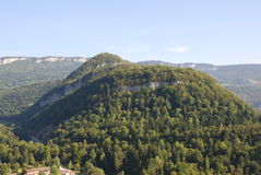 Mountains and cliffs Royalty Free Stock Photo