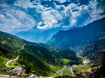 Mountains and clouds. Stock Image