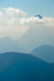 Mountains in clouds no.5 Royalty Free Stock Photo