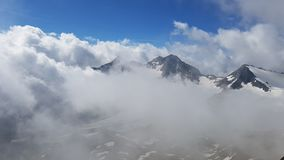 Mountains in the clouds Royalty Free Stock Photography