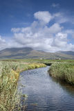 Mountains and Cloudscape in Dingle Peninsula Royalty Free Stock Photo