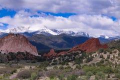 Mountains in Colorado stock photos