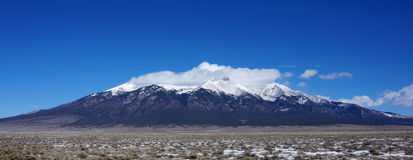 Mountains in Colorado in winter Royalty Free Stock Photography