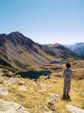 Mountains Contemplation Royalty Free Stock Photos