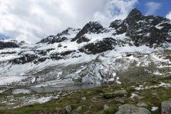 Mountains. Cordilierra Blanca, Perú, Huascarán, Yungay, Lagos Stock Photo
