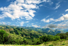 Mountains costa rica Stock Images
