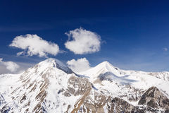 Mountains covered with snow in Pirin Royalty Free Stock Photography