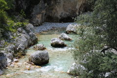 Mountains creek Royalty Free Stock Photography