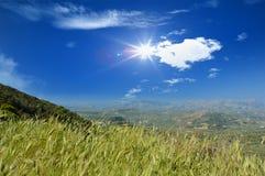 Mountains on Crete Island, Greece Stock Photography