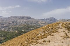 Mountains of Crete Stock Images