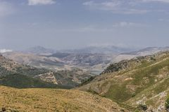 Mountains of Crete Royalty Free Stock Image