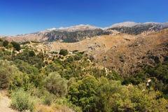 Mountains on Crete Stock Image