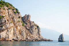 Mountains in the crimea. Photo of mountains near Yalta in the Crimea Royalty Free Stock Photos