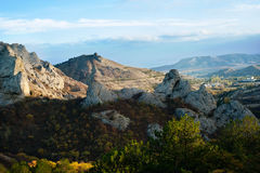 Mountains. Crimea Royalty Free Stock Images